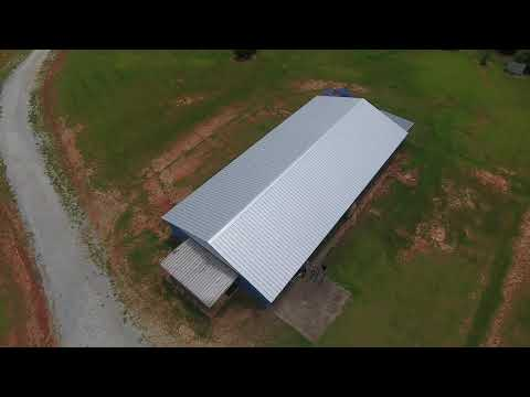 Completed R-Panel Roof at Oglethorpe County High School