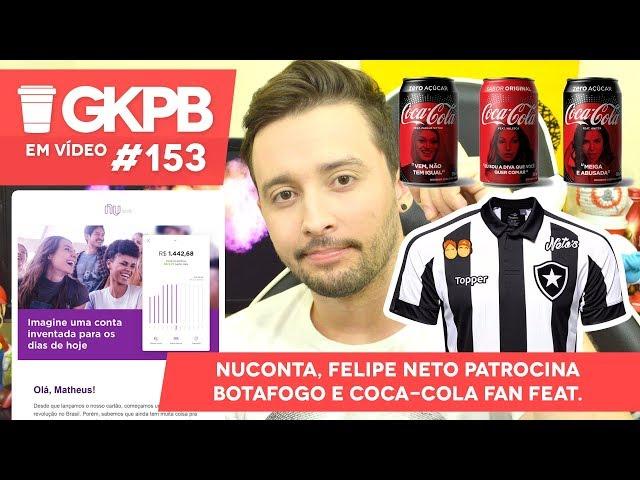 Felipe Neto anuncia patrocínio do Botafogo - Geek Publicitário decf681b2c0da