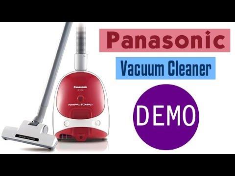 Panasonic Vacuum Cleaner Demo MC CG303
