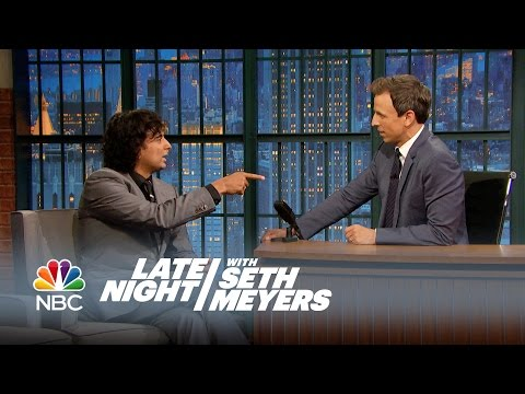 M. Night Shyamalan's Late Night Twist Ending - Late Night with Seth Meyers