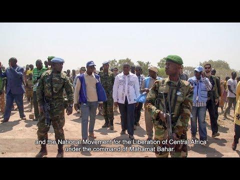 President Touadera visits Paoua