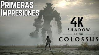 Video de SHADOW OF THE COLOSSUS EN 4K   PS4 Pro   Primeras Impresiones