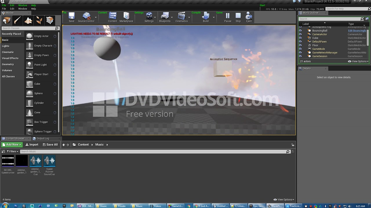 Time and audio dilation unreal engine blueprint youtube time and audio dilation unreal engine blueprint malvernweather Image collections
