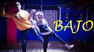 EMIWAY - Bajo Song Dance Video| Aakash Nevatiya Choreography