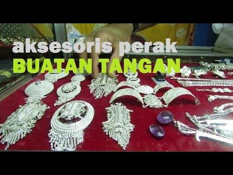 Pesona  Perhiasan Perak Buatan Tangan Motif Etnik Aceh