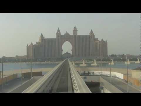 Dubai Atlantis Palm Monorail