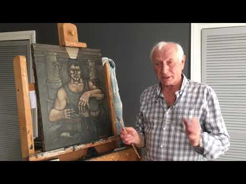 'Bait Time' With Former Miner And Artist Bob Olley