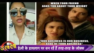 Race 3: Our Business Is Our Business None Of Your Business Dialogue Gets Viral I Daisy Shah | Ulala