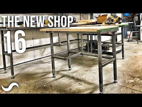 FABRICATING WORKBENCHES!!!