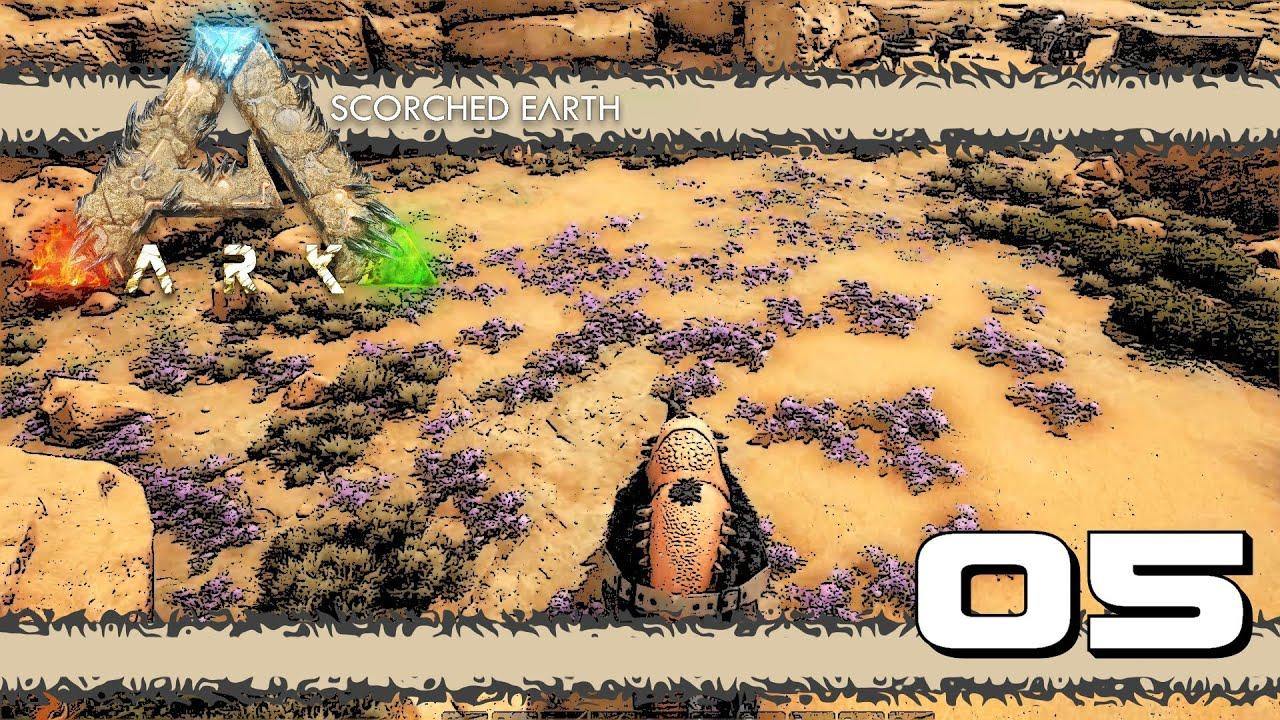 ARK: Scorched Earth E05 - HOW TO FARM RARE MUSHROOMS!!