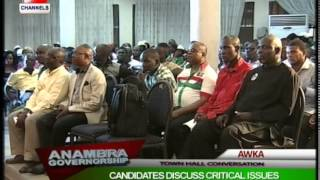 Anambra Governorship Debate: Candidates Discuss Critical Issues Pt 6