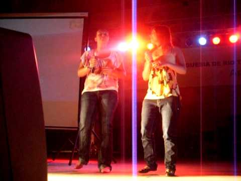 pantera e fabiana concurso karaoke rio tinto-final