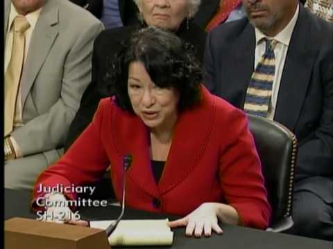Senator Lindsey Graham Questions Judge Sonia Sotomayor