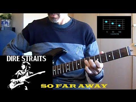 So Far Away From Me Guitar Chords Dire Straits Khmer Chords