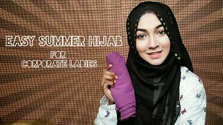 Easy Hijab for Summer ft Styline Collection | Pari ZaaD