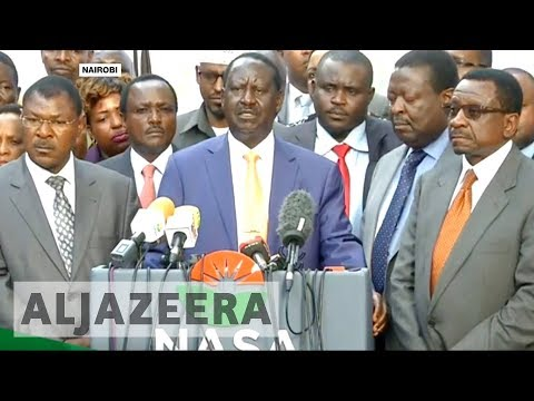 Kenya's Raila Odinga withdraws from election re-run