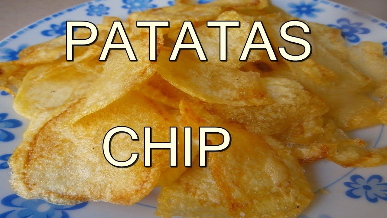 Papas o patatas chips recetas de cocina faciles rapidas for Comidas rapidas de preparar