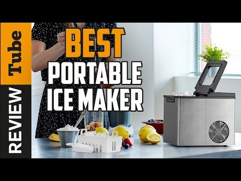 ✅Portable Ice Maker: Best Ice Maker 2019 (Buying Guide)