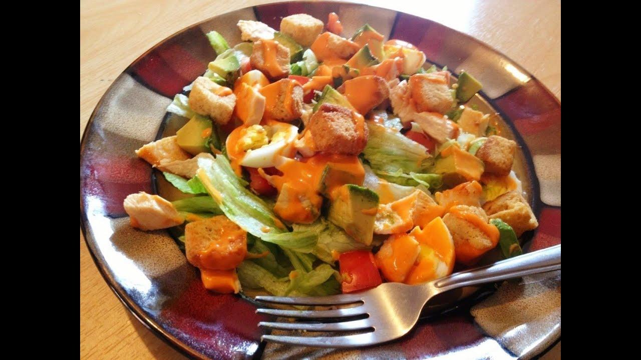 Ensalada saludable perfecta para dietas youtube - Comidas ricas sanas y faciles ...