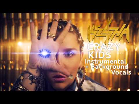 Crazy Kids Official Instrumental + Background Vocals