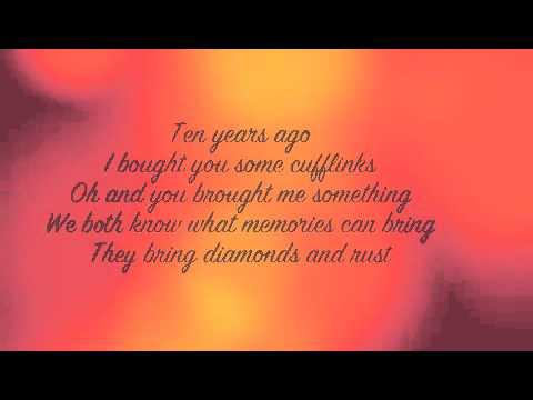 Blackmore S Night Diamonds And Rust Lyrics Youtube