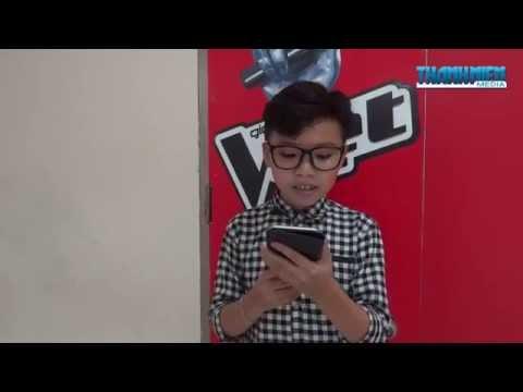 Cậu bé 12 tuổi Nguyễn Công Quốc giả giọng Phương Mỹ Chi