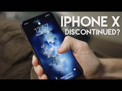 iPhone X being discontinued?