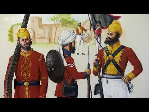 Anglo Sikh Wars on BBC Celebrity Antiques Roadtrip