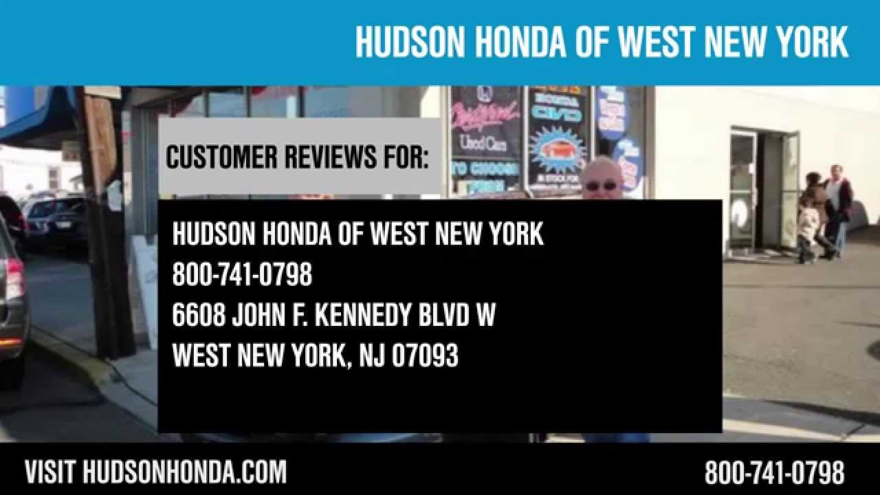 Hudson honda of west new york reviews new jersey for Honda west new york