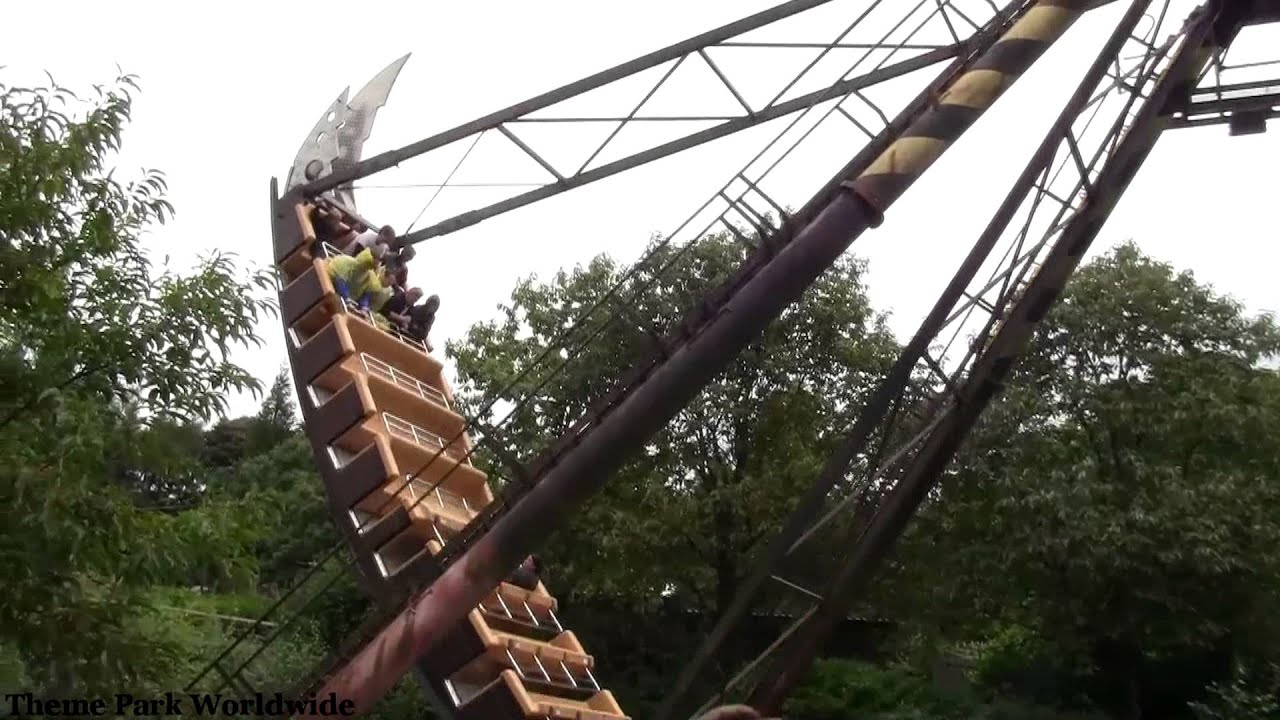 Zero Gravity Theme Park >> The Blade Off Ride - Alton Towers - YouTube