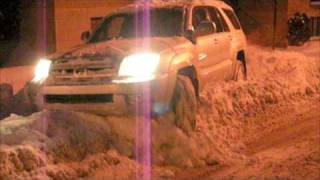 4th Gen Toyota 4Runner in Snow
