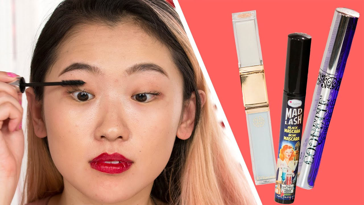 d45716165a2 Women Try Amazon's Top-Rated Lengthening Mascaras - YouTube