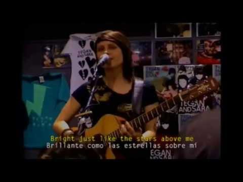 Tegan and Sara  Take Me Anywhere  Subtitulado Ingles  Español