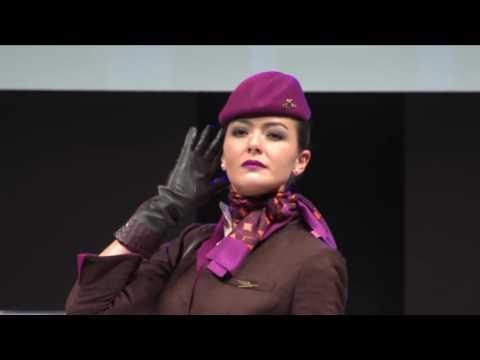 Etihad Airways Cabin Crew Uniform Presentation