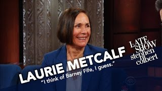 Laurie Metcalf Battles Stephen In