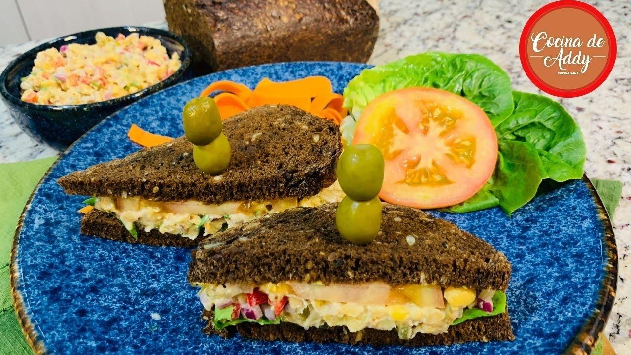 Ya no compro embutidos, RELLENO SANO PARA SANDWICHES P/Dieta, Colesterol y diabetes | Cocina de Addy