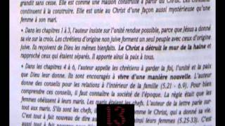 13 Letters_07_MY CITY (Traduction FR) épitres aux éphésiens hip-hop