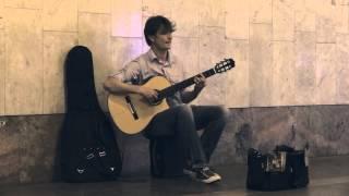 20150813 Сергей Мартемьянов гитара - Ты неси меня река (группа Любэ)