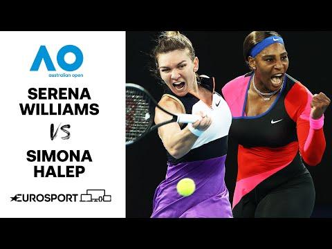 Serena Williams v Simona Halep | Australian Open 2021 - Highlights | Tennis | Eurosport