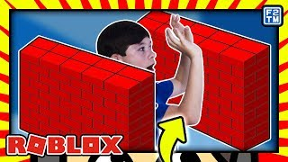 THE BIG SECRET! Roblox Be Crushed by a Speeding Wall