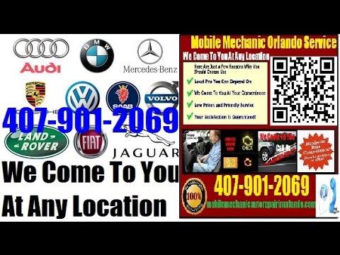 Foreign Car Repair Orlando, FL Mobile European & German Auto Service