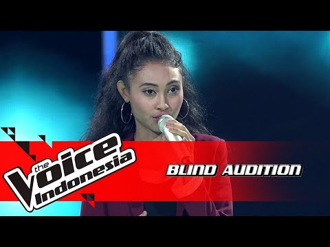 Novi - Titanium | Blind Auditions | The Voice Indonesia GTV 2018