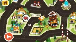 Видео обзор игры: Город панды. Машинки города