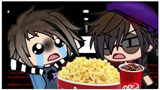 The Afton Family go to the Movies / Fnaf Gacha Life