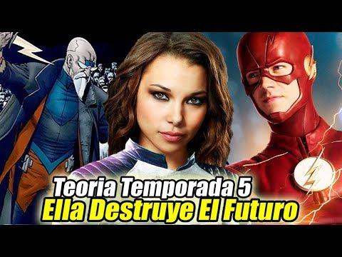 NORA DESTRUYÓ EL FUTURO y Su Conexión con Cicada - Teoría The Flash Temporada 5
