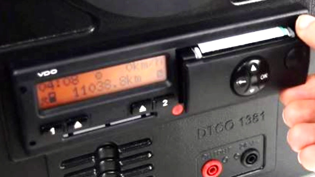 Tachograph: what is it