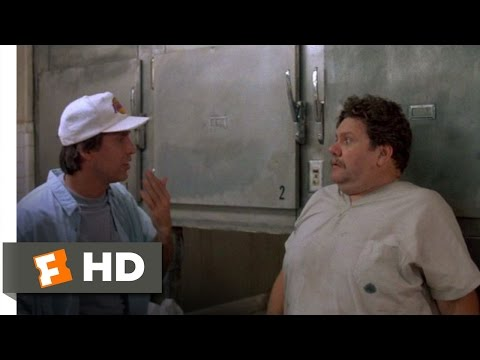 Fletch Lives (7/10) Movie CLIP - Sneaking Into the Morgue (1989) HD