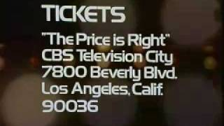 The Price is Right Ticket Plugs 73-75