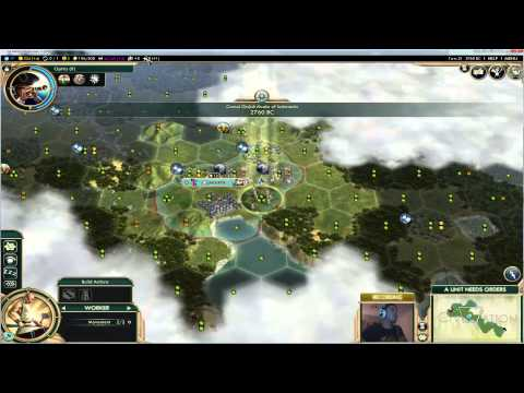 Vegan Gaming - Civilization 5: A Brave New World - Ep2