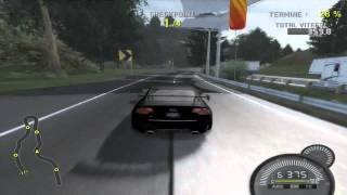 NFS ProStreet  : RS4 on AutoBahn road